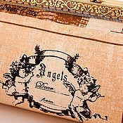 """Сумки и аксессуары ручной работы. Ярмарка Мастеров - ручная работа Клатч  с фермуаром """" Angels """". Handmade."""