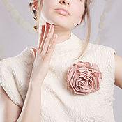 Украшения handmade. Livemaster - original item Dusty rose felt. Brooch.. Handmade.