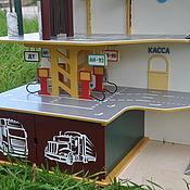 Куклы и игрушки handmade. Livemaster - original item Garage for cars. Parking.. Handmade.