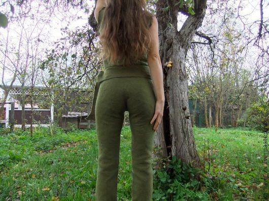 Брюки, шорты ручной работы. Ярмарка Мастеров - ручная работа. Купить Swamp. 2012 год - мои первые валяные брюки :). Handmade.