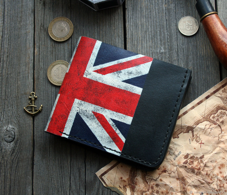 Wallet British flag, Wallets, Murmansk,  Фото №1