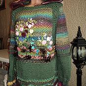 Одежда handmade. Livemaster - original item Hooded jumper