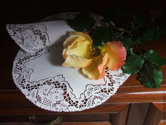 Винтажные предметы интерьера. Ярмарка Мастеров - ручная работа. Купить Викторианские салфеточки. Handmade. Белый, винтажный стиль