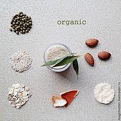 Косметика ручной работы handmade. Livemaster - original item Organic cleansing powder for different skin types. Handmade.