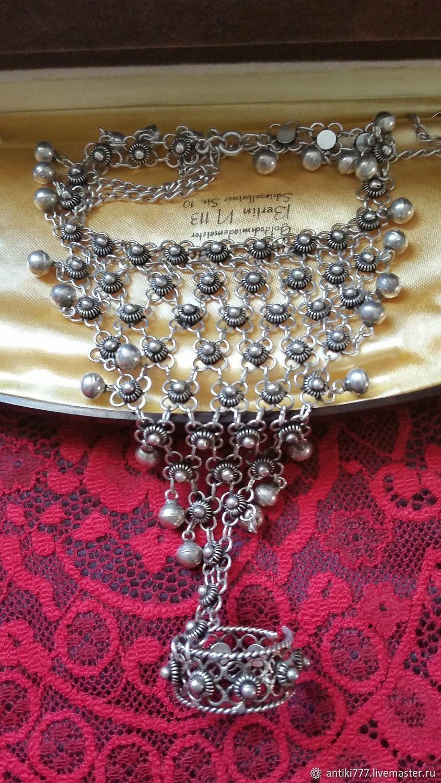 Vintage silver bracelet in Oriental style, Vintage bracelets, Moscow,  Фото №1