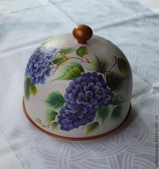 """Кухня ручной работы. Ярмарка Мастеров - ручная работа. Купить Хлебница """"Сирень"""". Handmade. Сиреневый, хлебница из дерева, посуда из дерева"""