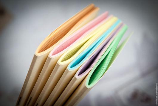Записные книжки ручной работы. Ярмарка Мастеров - ручная работа. Купить Сменный блокнот для Traveler's Journal Field Notes цветной. Handmade.