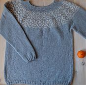 Одежда handmade. Livemaster - original item Knitted sweater meltwater. Handmade.