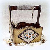 Для дома и интерьера handmade. Livemaster - original item Box-basket