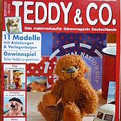 Материалы для творчества ручной работы. Ярмарка Мастеров - ручная работа Журнал Teddy & Co. 04/2013. Handmade.
