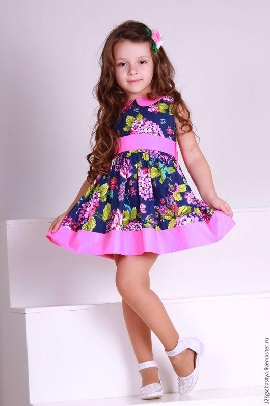 Одежда для девочек, ручной работы. Ярмарка Мастеров - ручная работа. Купить Детское платье. Handmade. Разноцветный, Платье красивое