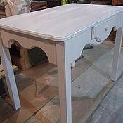 Для дома и интерьера ручной работы. Ярмарка Мастеров - ручная работа кухонный стол и два стула. Handmade.