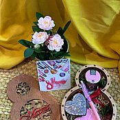 Подарки на 8 марта ручной работы. Ярмарка Мастеров - ручная работа Подарок на 8 марта. Handmade.