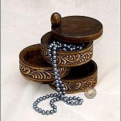Сувениры и подарки ручной работы. Ярмарка Мастеров - ручная работа шкатулка для мелочей. Handmade.