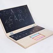 Для дома и интерьера ручной работы. Ярмарка Мастеров - ручная работа Ноутбук с доской для рисования. Handmade.