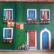 """Для дома и интерьера ручной работы. Ярмарка Мастеров - ручная работа Ночник """"Мурано"""". Handmade."""