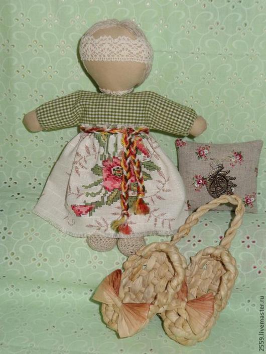 Народные куклы ручной работы. Ярмарка Мастеров - ручная работа. Купить куколка для сна. Handmade. Оберег, любовь, льняная пряжа