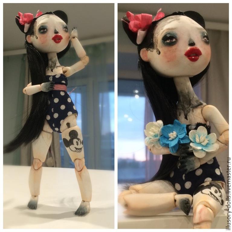 Шарнирная кукла, Коллекционные куклы, Щелково, Фото №1