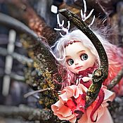 Куклы и игрушки handmade. Livemaster - original item Blythe custom Forest fairy with Dragon custom blythe OOAK. Handmade.