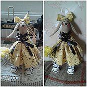 Куклы и игрушки ручной работы. Ярмарка Мастеров - ручная работа Зайка Люсьена. Handmade.