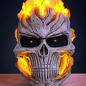 Одежда handmade. Livemaster - original item Helmet Ghost rider from the TV series Agents of Shield. Handmade.