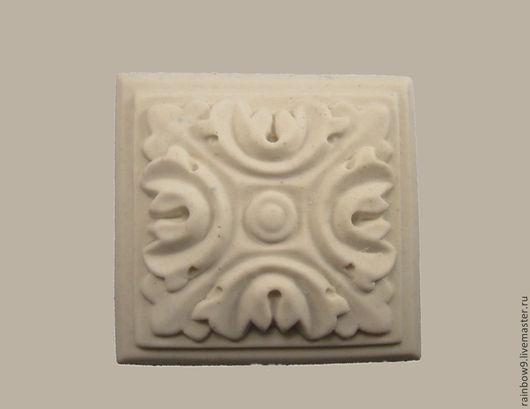 Мебельный декор из пластика Розетка резная квадратная , заготовки для декупажа. Декупаж и роспись для мебельного и интерьерного декора.