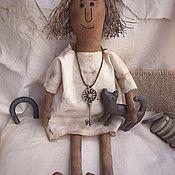 Чердачная кукла ручной работы. Ярмарка Мастеров - ручная работа Живущая на чердаке. Handmade.