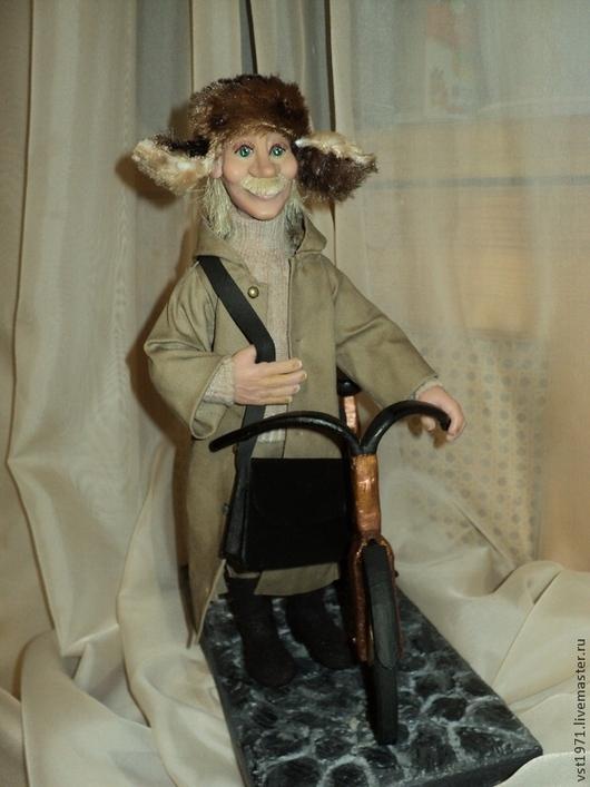 Коллекционные куклы ручной работы. Ярмарка Мастеров - ручная работа. Купить Печкин. Handmade. Подарок на любой случай