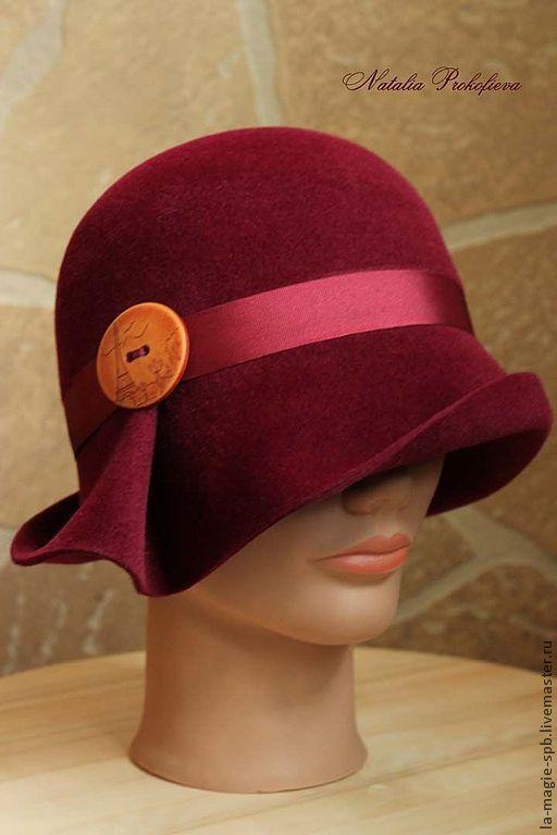 """Шляпы ручной работы. Ярмарка Мастеров - ручная работа. Купить Весенняя шляпка """"La cerise de Paris"""" ( Парижская вишня)). Handmade."""