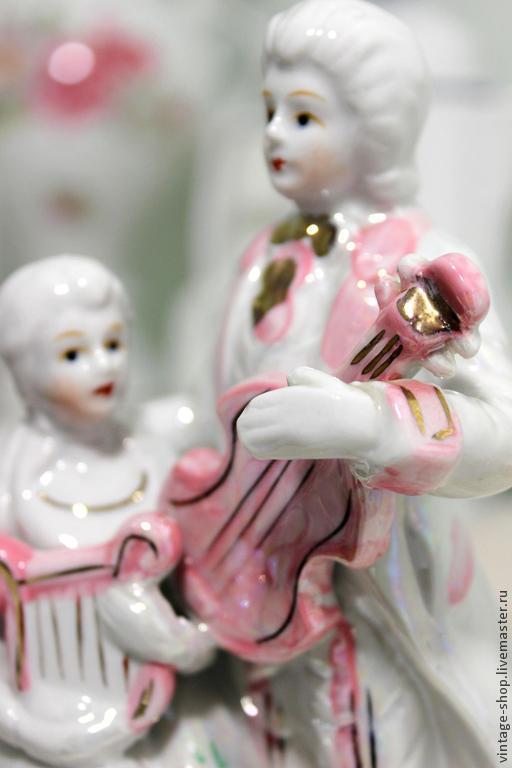 Винтажные предметы интерьера. Ярмарка Мастеров - ручная работа. Купить Винтажная фарфоровая статуэтка  (Германия). Handmade. Фарфор, статуэтка