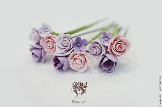 Свадебные цветы.Terracotta by Elena Levit.