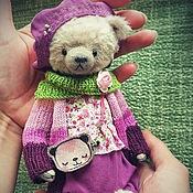 Куклы и игрушки ручной работы. Ярмарка Мастеров - ручная работа Мишка Мими Бри. Handmade.
