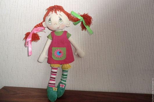 Коллекционные куклы ручной работы. Ярмарка Мастеров - ручная работа. Купить Я вредина. Handmade. Фуксия, игровая кукла, подарок
