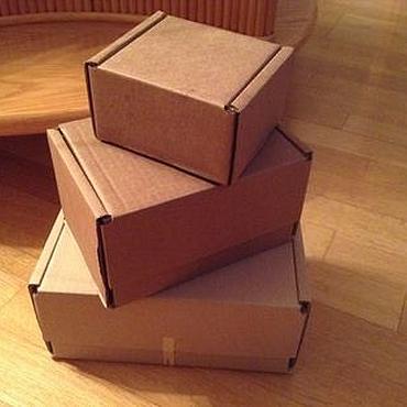 Материалы для творчества ручной работы. Ярмарка Мастеров - ручная работа Коробки: Почтовые коробки ( 5 размеров, цены в описании). Handmade.