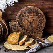Для дома и интерьера handmade. Livemaster - original item A set of chopping boards made of oak