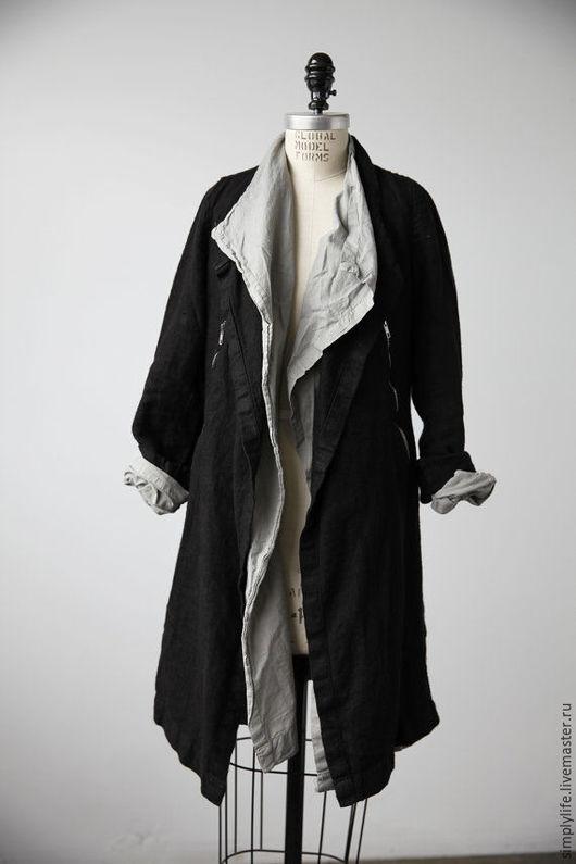 Пиджаки, жакеты ручной работы. Ярмарка Мастеров - ручная работа. Купить Бохо жакет 2 в 1. Handmade. Черный