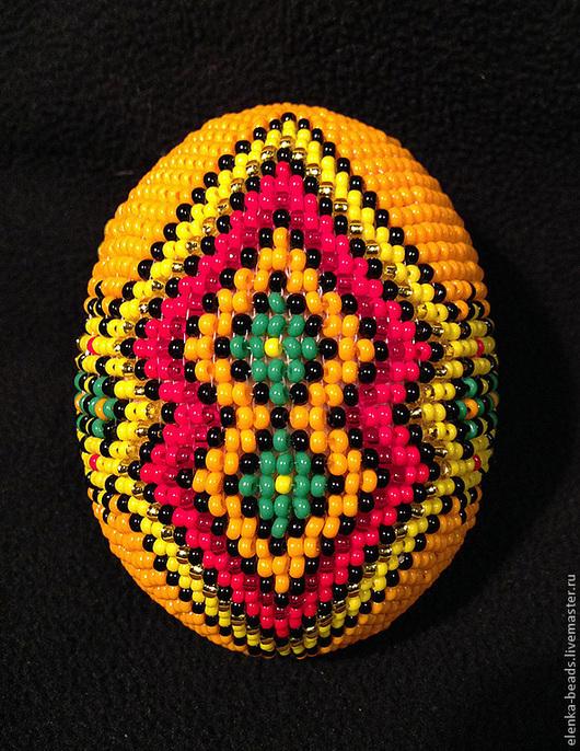 """Яйца ручной работы. Ярмарка Мастеров - ручная работа. Купить Яйцо пасхальное """"В ожидании Пасхи"""". Handmade. Яйцо пасхальное"""