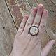 Кольца ручной работы. Кольцо с картой Средиземья. Наталья. Интернет-магазин Ярмарка Мастеров. Кольцо, толкин, латунь