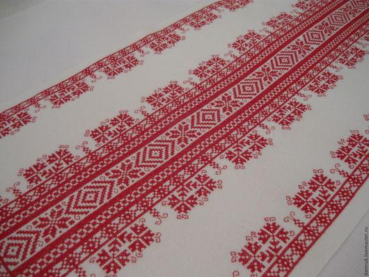 Текстиль, ковры ручной работы. Ярмарка Мастеров - ручная работа. Купить Дорожка счастья и удачи. Ручная вышивка. Handmade.