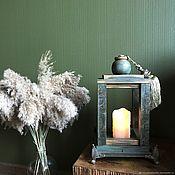 Для дома и интерьера handmade. Livemaster - original item Wooden lantern-candlestick-night light. Handmade.