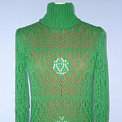 Одежда ручной работы. Ярмарка Мастеров - ручная работа Водолазка вязаная Vintage. Handmade.