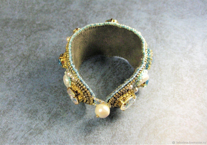 Широкий браслет с кристаллами сваровски Swarovski Aladdin'sTreasure