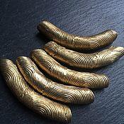 Бусины ручной работы. Ярмарка Мастеров - ручная работа ДУГИ - латунные бусины из Африки. Handmade.