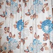 Ткани ручной работы. Ярмарка Мастеров - ручная работа Ткань портьерная Пионы 2336-5. Handmade.