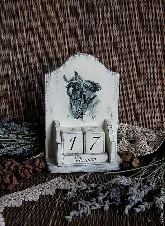 """Календари ручной работы. Ярмарка Мастеров - ручная работа. Купить """"Прогулка"""". Handmade. Белый"""