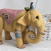 Куклы и игрушки ручной работы. Ярмарка Мастеров - ручная работа слон Мармелад. Handmade.