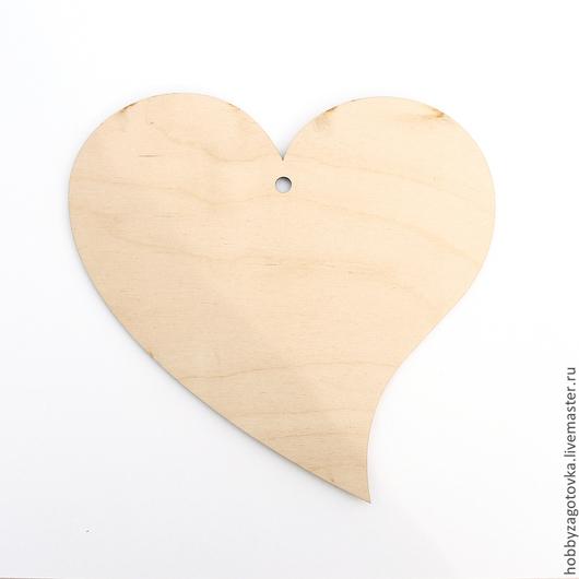 Декупаж и роспись ручной работы. Ярмарка Мастеров - ручная работа. Купить Сердце большое -1 F-0370. Handmade. Белый
