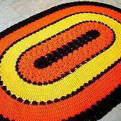 Для дома и интерьера handmade. Livemaster - original item Oval rug handmade Autumn whim. Handmade.