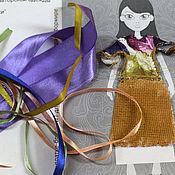 Украшения ручной работы. Ярмарка Мастеров - ручная работа Набор для создания Броши для куклы на футболке трансформере.. Handmade.