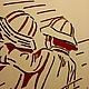 """Люди, ручной работы. Картина """"Двое"""". Сергей Шихов (studiomaster) (sergeyshihov). Ярмарка Мастеров. Интерьер, ручная работа, дети"""